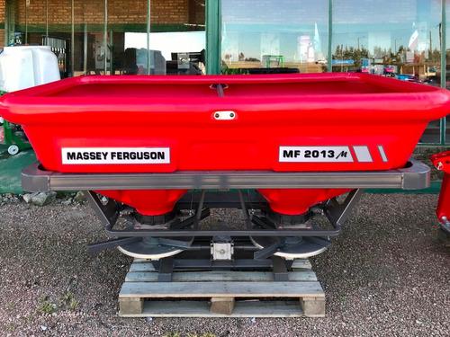 Fertilizadora Doble Disco Massey Ferguson De 3 Puntos