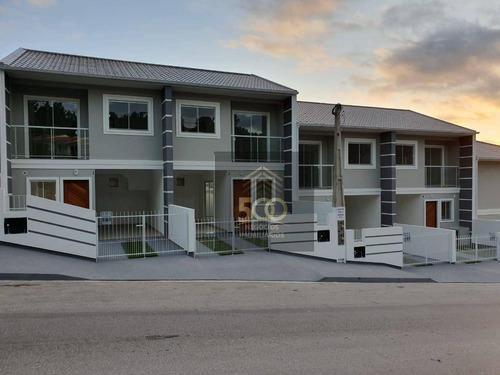 Sobrado Com 2 Dormitórios À Venda, 76 M² Por R$ 205.000,00 - Forquilhas - São José/sc - So0042