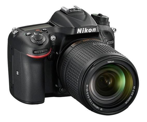 Nikon Reflex D7200 Cuerpo Solo Unica Con Garantia Oficial