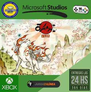 Okami Hd Xbox One Modo Local