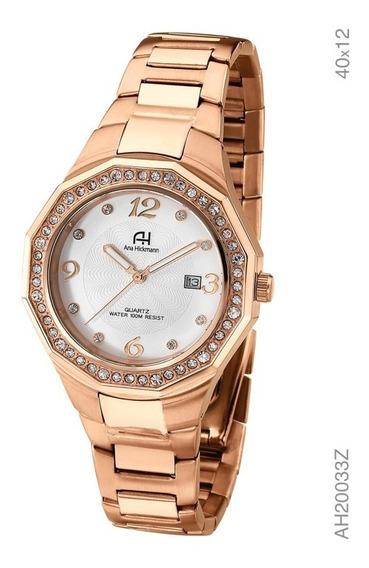 Relógio Ana Hickmann - Analógico - Rosé - Ah20033z