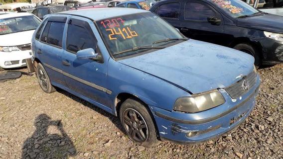 Sucata Vw Gol 16v Turbo Gasolina 2001 Rs Caí Peças