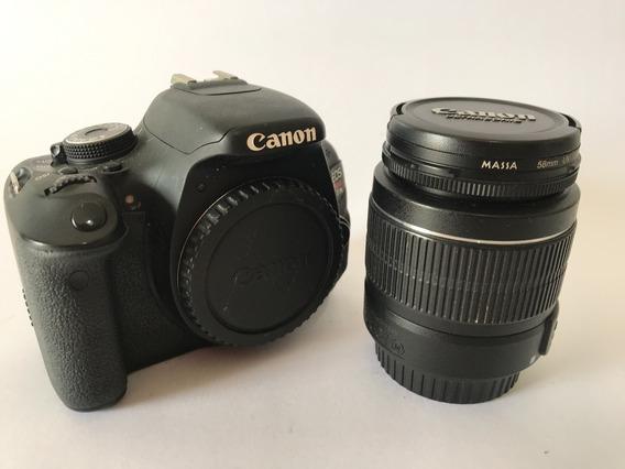 Câmera Canon T3i - Usada