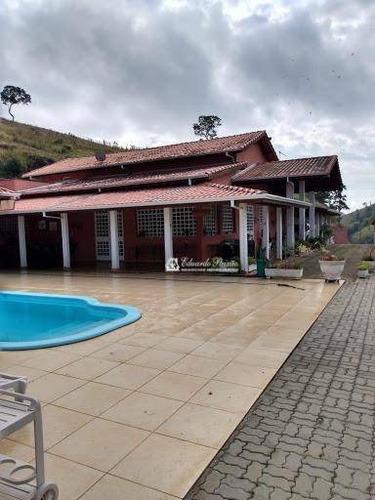 Chácara Com 4 Dormitórios À Venda, 1000 M² Por R$ 2.500.000,00 - Morro Grande - Nazaré Paulista/sp - Ch0003