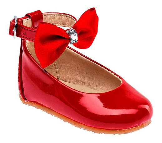 Zapato Bebe Niña Pk 90961 Sexy Girl Rojo