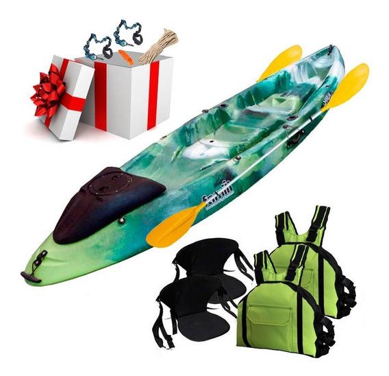 Kayak Famili Samoa Doble Full Tambucho Regalo Tienda Oficial