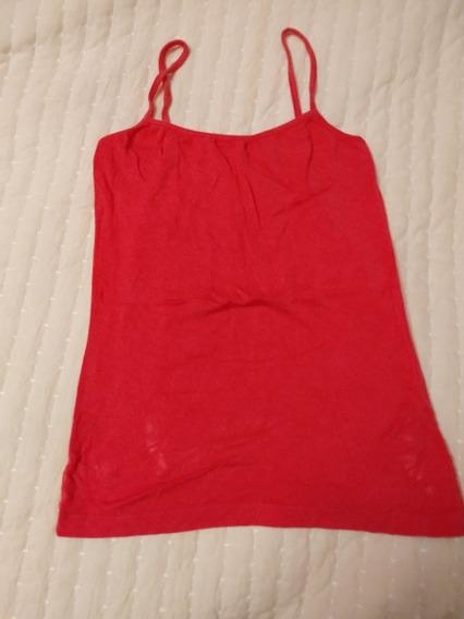 Musculosa Fuxia Camiseta Remera T S Mujer Licra Dama