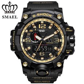 Relogio Smael Men Sport Watch Analogico - Frete Gratis