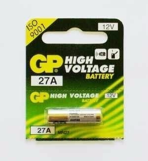Cartela Mini Pilha High Voltage Alcalina 12volts Gp 27a
