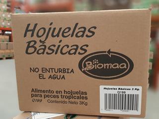 Hojuelas Basicas Biomaa Nueva Caja 3kg