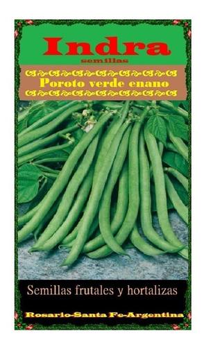 Poroto Enano Verde - Frijol - Judias  X 100 Grs