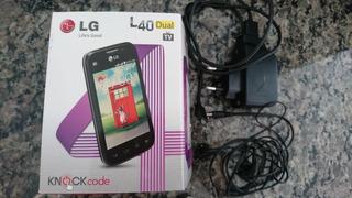 Smartphone Lg L40 Dual D175 Branco Com Tela De 3,5