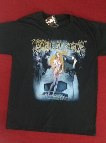 Camiseta Cradle Of Filth Cryptoniana Power Rock Cofc1