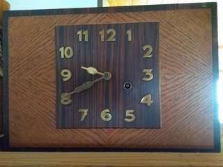 Reloj Junghans A Pendulo Con Soneria