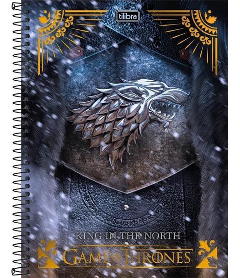 Caderno Espiral Game Of Thrones 200 Folhas - Tilibra