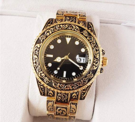 Relógio Rolex Oyster Perpetual Engraved Sem Uso