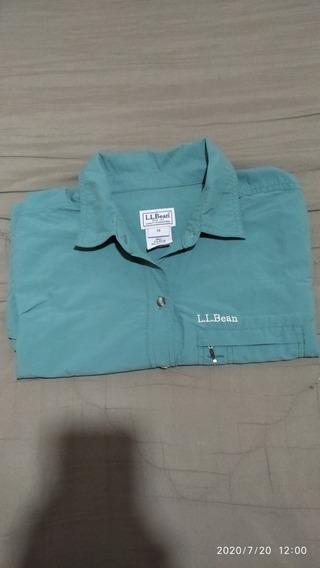 Camisa Secado Rápido L.l Bean - Dama