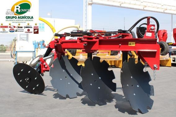Arado Agricola 3 Discos Hidraulico Marca Famaq P Tractor