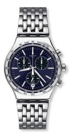 Relógio Swatch Dress My Wrist Aço Prata Original