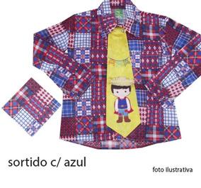 Camisa Estampada Junina 4/10 030