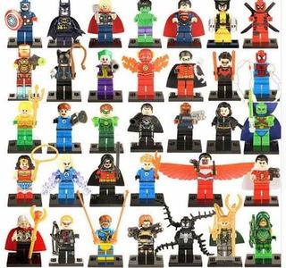 Set 100 Figuras Super Héroes Villanos Oferta + Envío Gratis