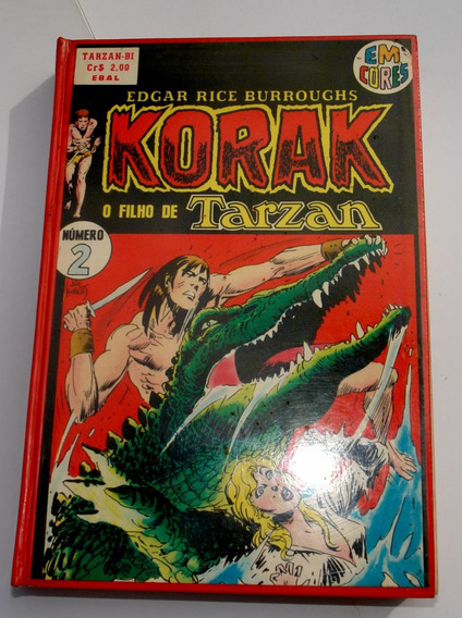 Korak, O Filho De Tarzan Em Cores - Encadernado