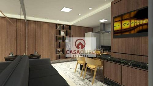 Apartamento À Venda, 38 M² Por R$ 430.000,00 - Savassi - Belo Horizonte/mg - Ap0827