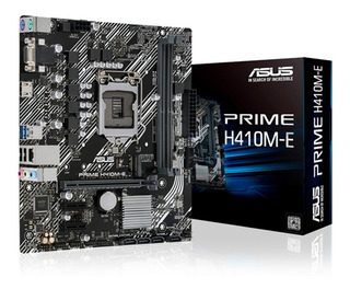 Mother Asus S1200 Prime H410m-e Box Ddr4 Decima Generacion