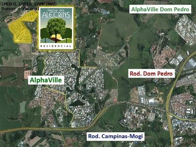 Terreno À Venda Em Loteamento Parque Dos Alecrins - Te007166