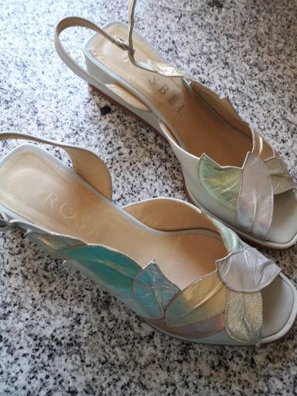 Zapatos Rosbel De Fiesta Talle 37