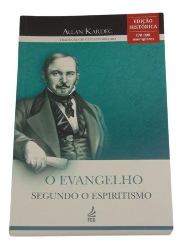 Imagem 1 de 2 de O Evangelho Segundo O Espiritismo (brochura) Guillon Ribeiro