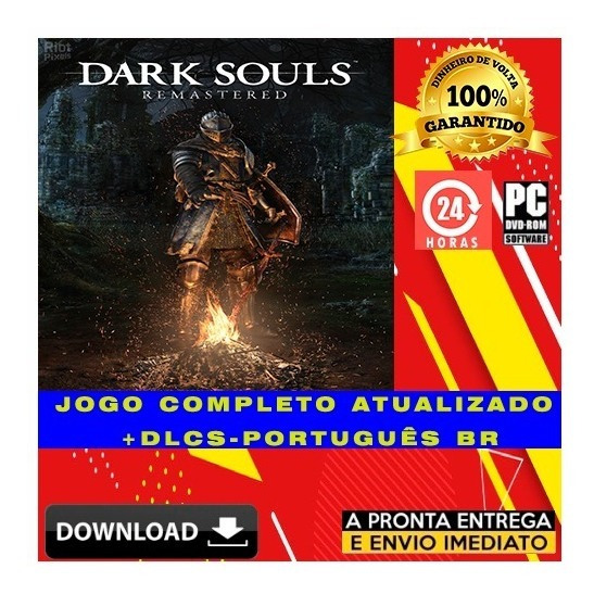 Dark Souls Remastered - Pc + Brinde - Digital
