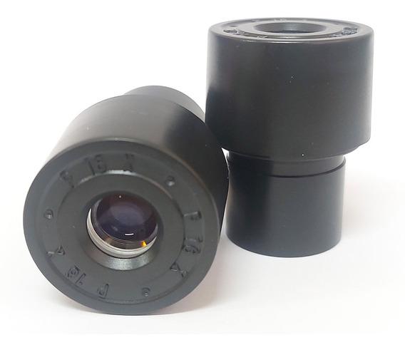 Ocular De 16x Para Microscópio Biológico (par)