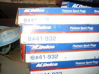 Bujias Acdelco Platinum 41-932 Por Cajas De 8