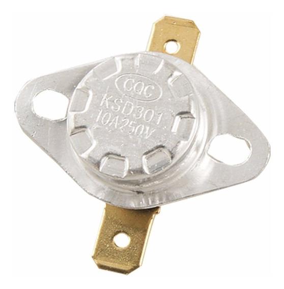 Termostato Ksd301 145° Sensor Temperatura 145 Graus Kit 5 Pç