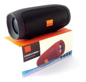 Caixa De Som Portátil Charge Mini 3+ Bluetooth Fm Pen Drive
