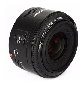 Lente Yongnuo Yn 35mm F2n Para Nikon C/ Nota Fiscal Yn35n