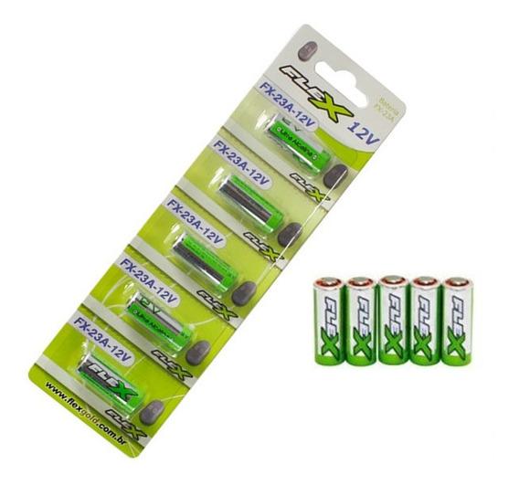 Bateria Pilha 23a 12v 5 Peças Ultra Alcalina Alarme Portão