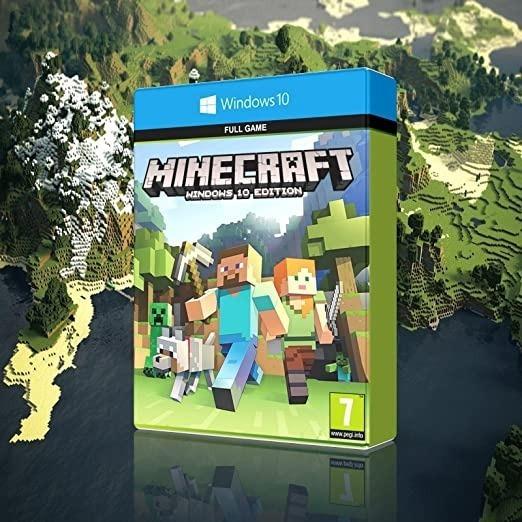 Minecraft Windows 10 Edition Original Chave 25 Digitos