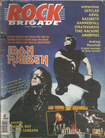 Rock Brigade 1999 Nº 154 Iron Maiden + Posters Black Sabbath