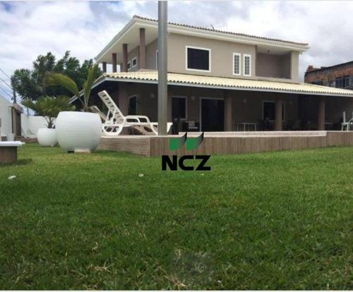 Casa Com 6 Dormitórios À Venda, 800 M² Por R$ 740.000,00 - Estrada Do Coco - Lauro De Freitas/ba - Ca3140