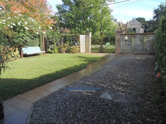 Divina Casa En Parque Miramar! Impecable. Jardín + Fondo.
