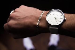 Reloj Hombre Mango Original 1610 Cuero Varios Colores Garantia