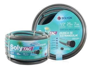 Manguera Riego 1/2 X 15 Mts Anticolapsable Solytac