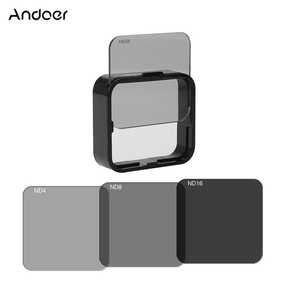 Andoer Pra?a Nd Lens Filtro Protector Kit