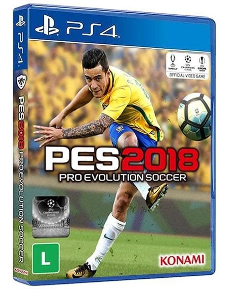 Pro Evolution Soccer 2018 - Ps4 - Mídia Física - Promoção!