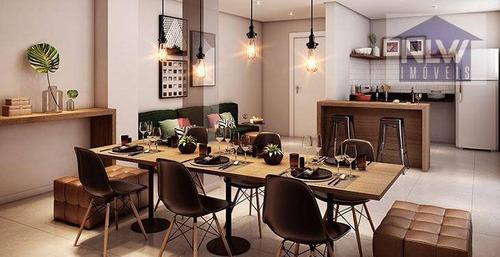 Apartamento Com 1 Dormitório À Venda, 26 M² Por R$ 219.000,00 - Barra Funda - São Paulo/sp - Ap2113