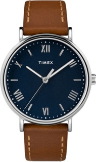 Reloj Timex Southview 41mm Leather Strap Watch