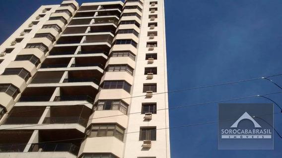 Apartamento Com 3 Dormitórios À Venda, 303 M² Por R$ 860.000 - Centro - Sorocaba/sp, Próximo Ao Shopping Cianê. - Ap0236