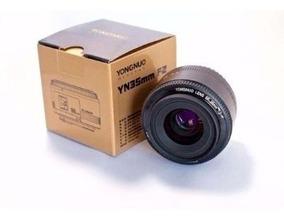 Lente Yongnuo Yn 35mm F/2 Para Canon